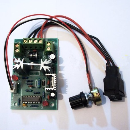 DC Motor Speed Regulator Controller + Direction Switch