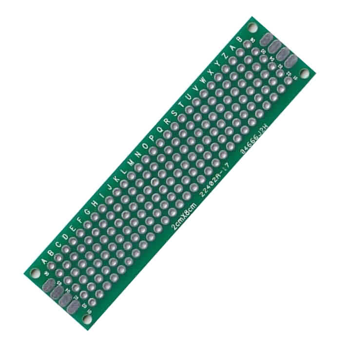 Prototype PCB - 20 x 80mm / Pitch: 2.54mm