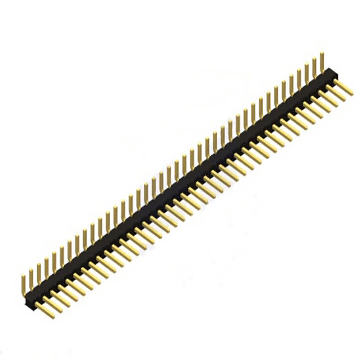 2.54mm Right Angle Breakaway Header -Pin: 40 / Single Row / Square Pin