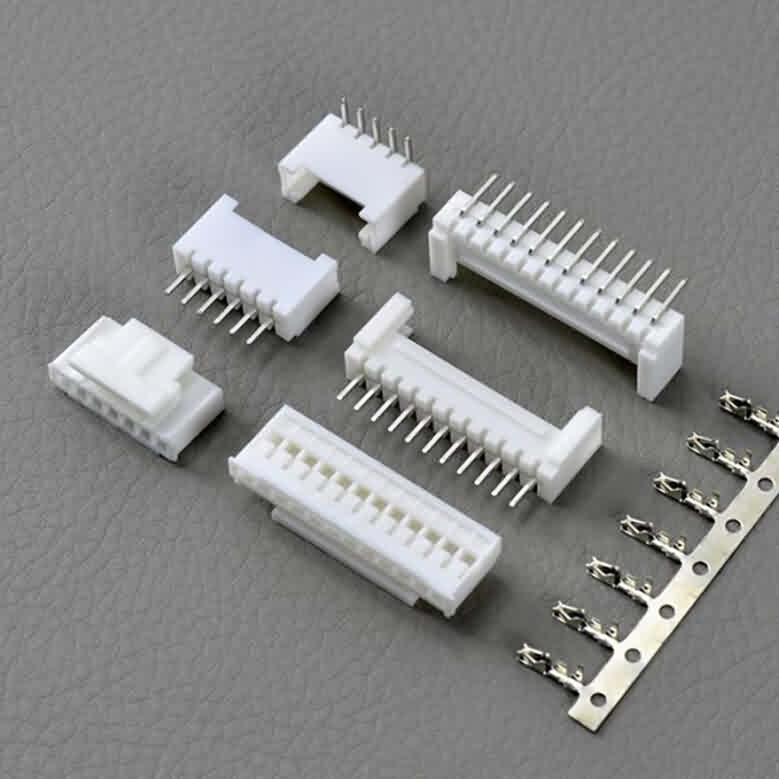 2.0mm JST PH-Style Shrouded Male/Female Connectors- Straight Pin