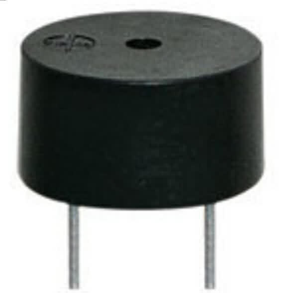 Through-hole Active Electro Magnetic Buzzer - Dia.: 9mm /H: 4.2mm