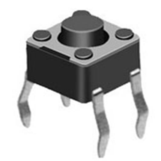 Micro Tact Switch - 4 Pin - 4.5 * 4.5 * 3.8mm