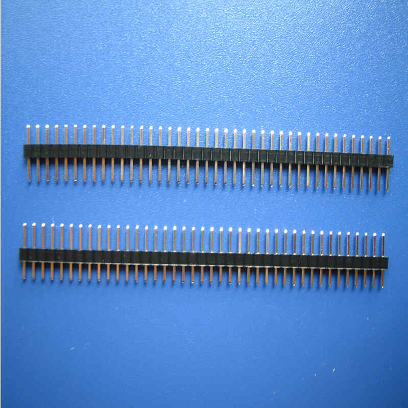 2.54mm Verticale Breakaway Header -Pin: 40 / Single Row / Square Pin / Pin Legth: 11.5/14.5/16.5/19.5/23mm