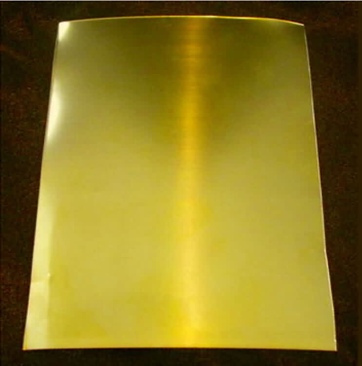 Brass Sheet by Alloy H62 - Thickness: 0.4~5.0mm