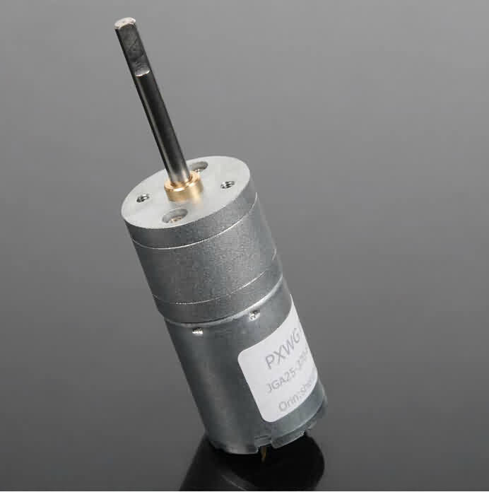 GM25 Gear DC Motor - 30.8+L * 25 * 25mm / 4mm Output Shaft