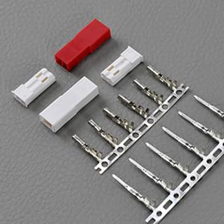2.5mm-pitch JST RCY connetors with lock