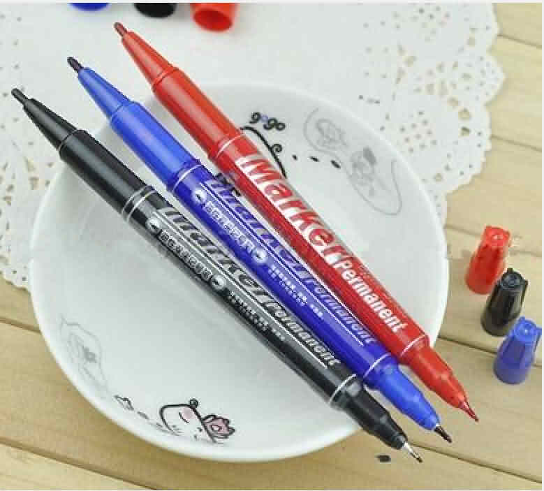 Etch Resist Pen: Red / Blue / Black