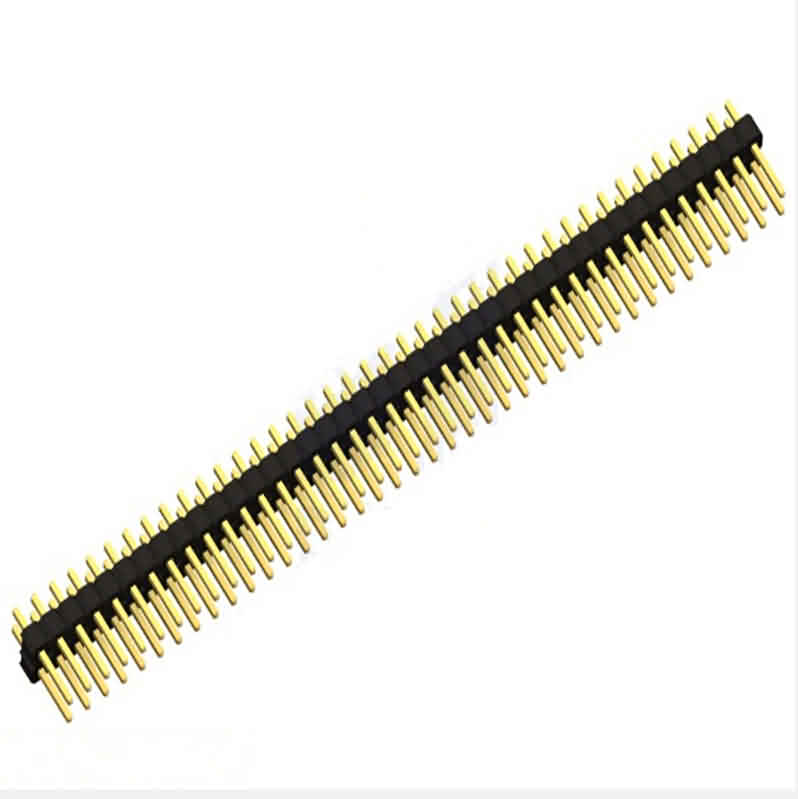 2.54mm Verticale Breakaway Header -Pin: 40 / Double Row / Square Pin / Pin Legth: 11.5/14.5/16.5/19.5/23mm