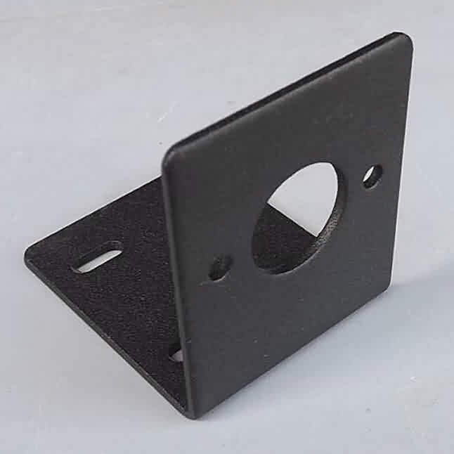 Johnson 755/775 DC Motor Bracket - Carbon Steel