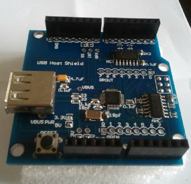 Arduino USB Host Shield V2.0