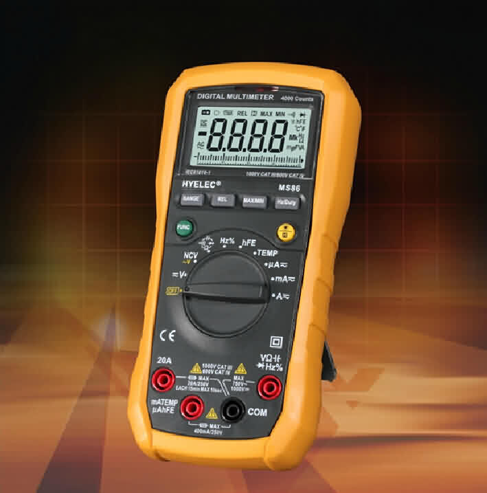 12-function Autoranging Multimeter