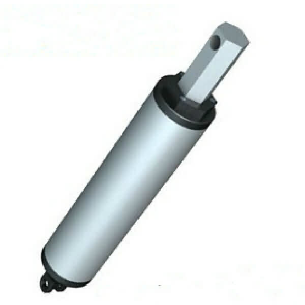 12VDC Cylindrical Linear Actuator - Stroke: 200mm/Speed: 48~240mm/s