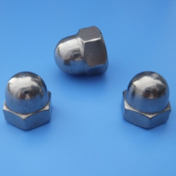 HEX DOMED CAP NUT - M3 ~ M6  Stainless Steel #304 DIN 1587