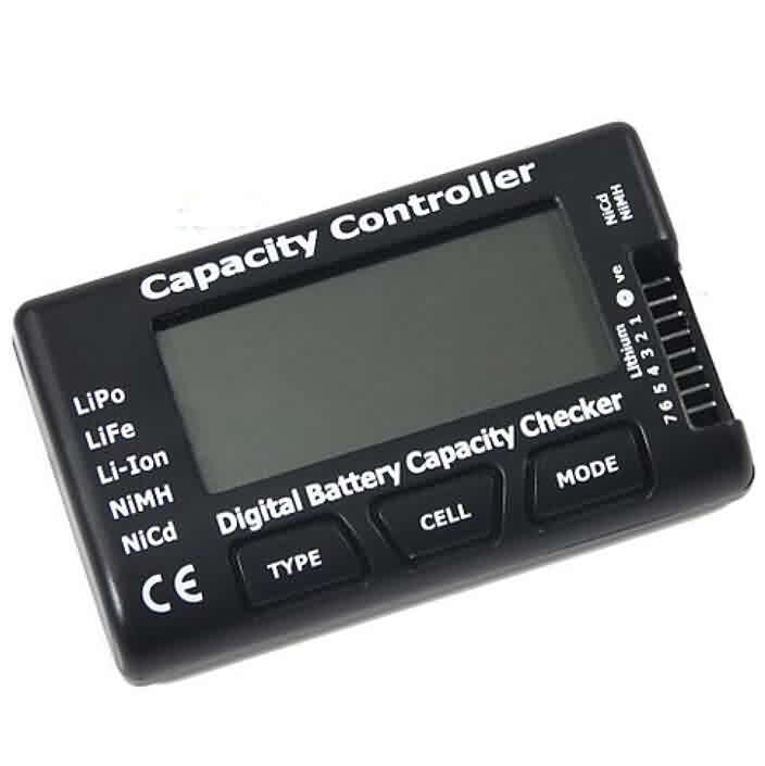 RC CellMeter - 7 Digital Battery Capacity Checker