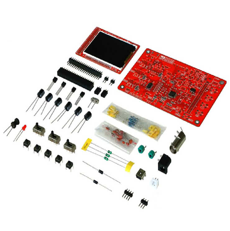 Mini Digital Oscilloscope Making and Studying Kit