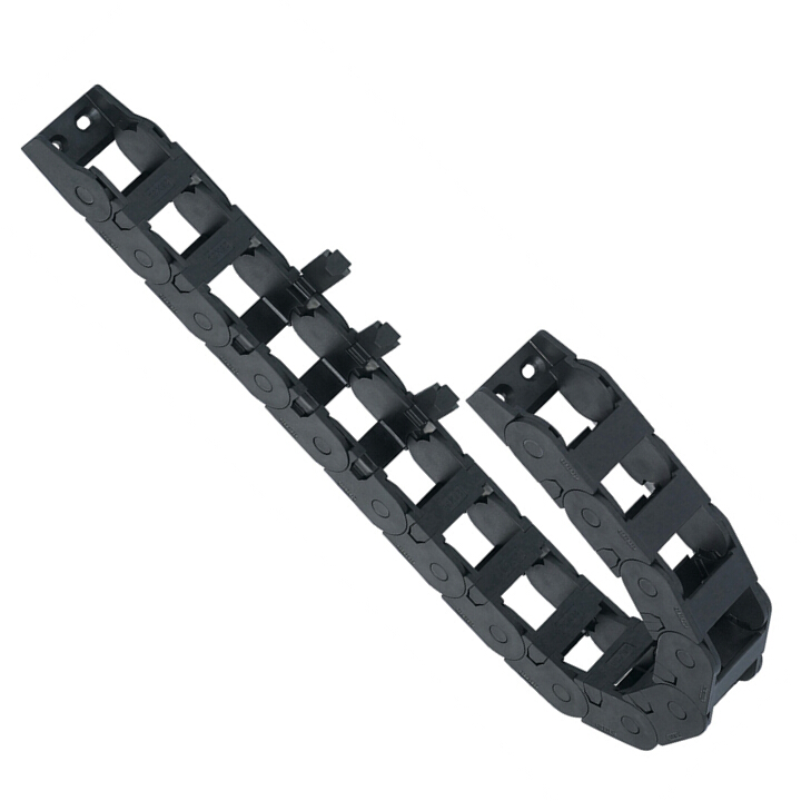 Nylon Drag Chain - Bridge Style / 1-side Cross Bar Open Type