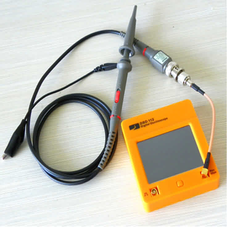Mini Digital Oscilloscope with Touch Panel