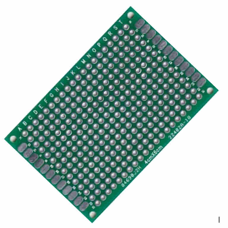 Prototype PCB - 40 x 60mm / Pitch: 2.54mm