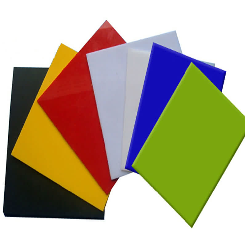 Acrylic Sheet Translucent - Color: Green / Thickness: 1.0/1.5/2.0mm