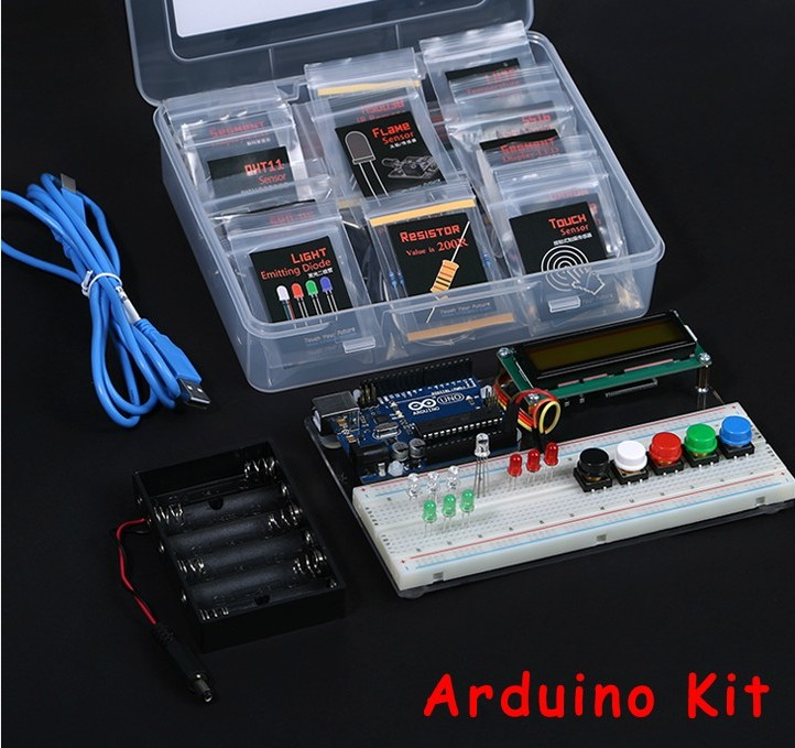 Arduino Uno R3 Based Studying Kit