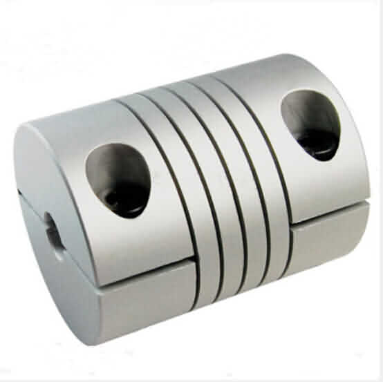 Clamp Type Flexible Beam Couplings - OD: 19 / L: 25mm