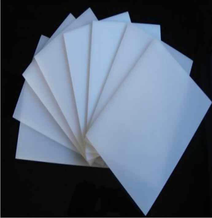 Acrylic Glass Sheets - Ivory White - Thickness: 1.0mm