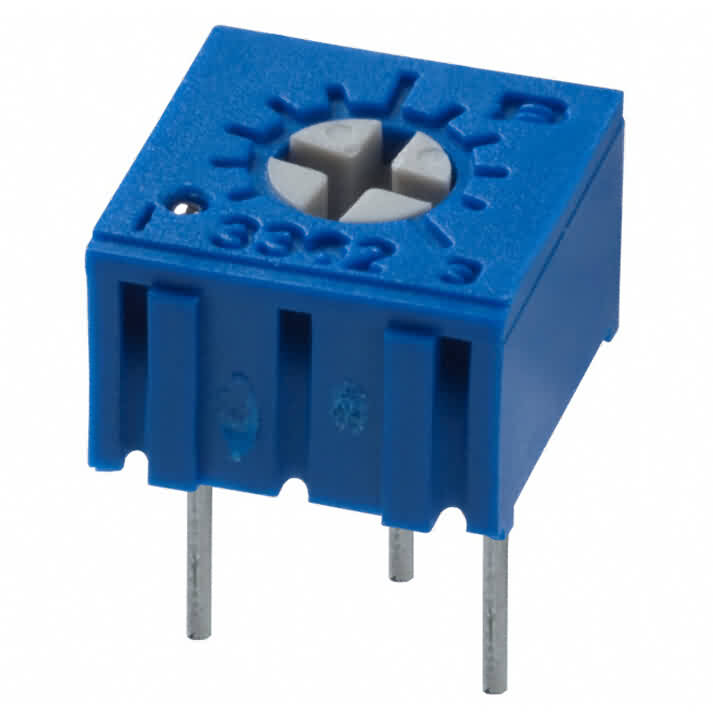 Square Trimming Potentiometer - 3362P Series
