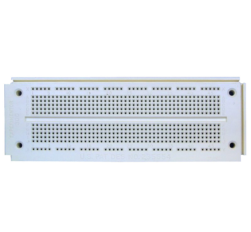 550 Tie-point Solderless Breadboard