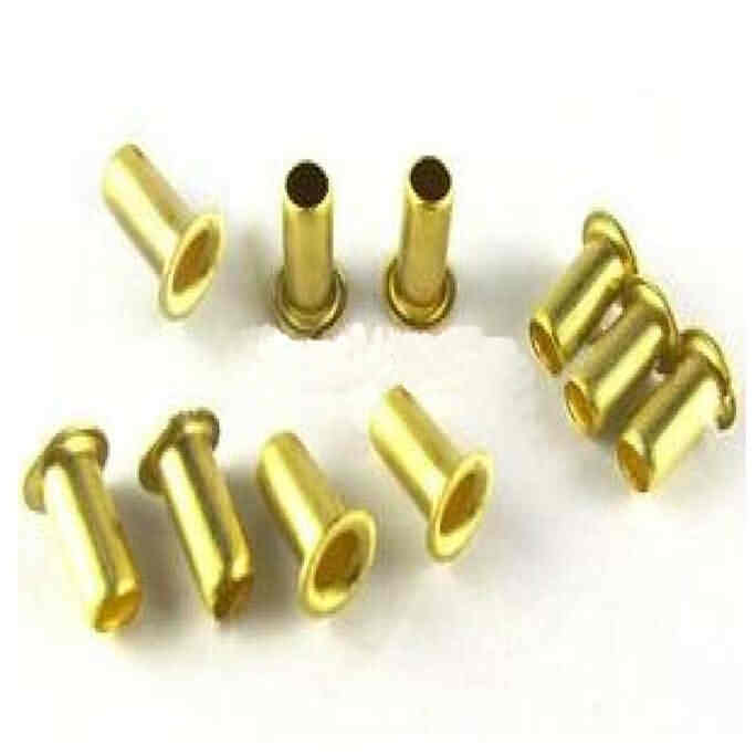 Tubular Rivets for PCB Mounting Hole / OD: 0.9 - 1.5mm