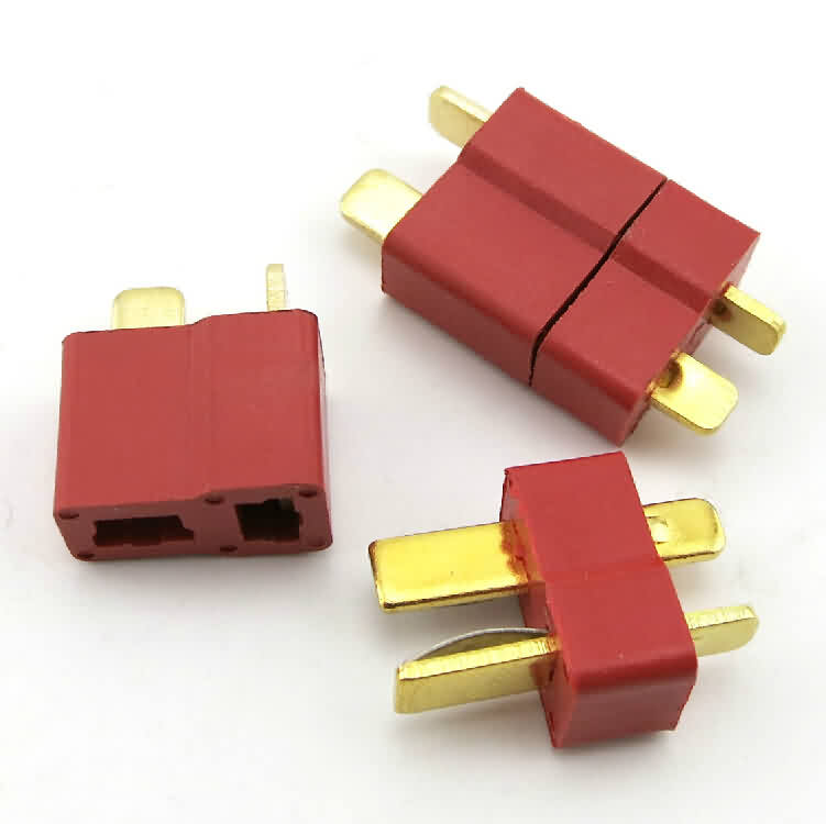 T Connectors Male-Female by Pair