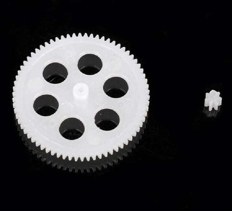 Plastic Single Stage Spur Gear M: 0.3  Teeth: 70