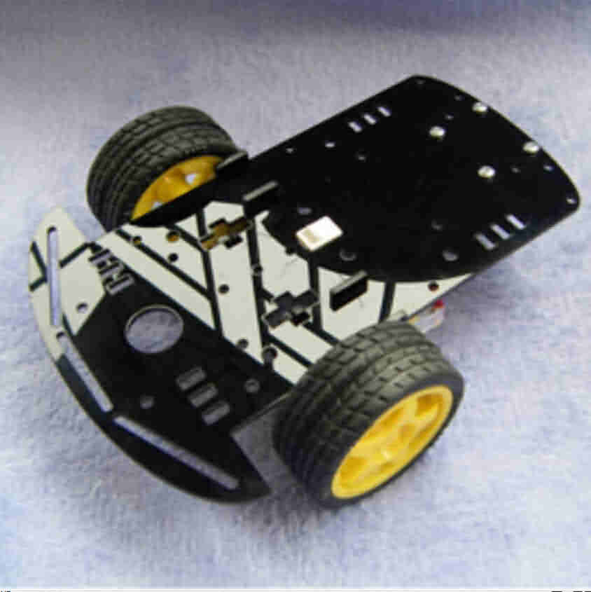 Single Board Robotic Chassis Kit