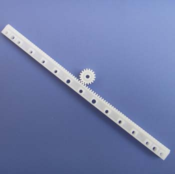 Plastic Gear Track M: 0.5 L: 125mm