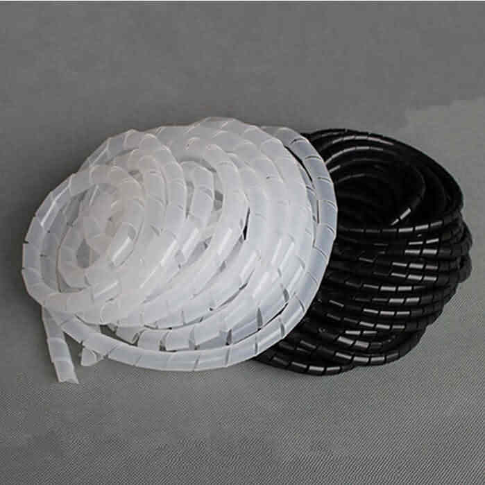 Spiral Cable Wrap - Diameter: 4~30mm
