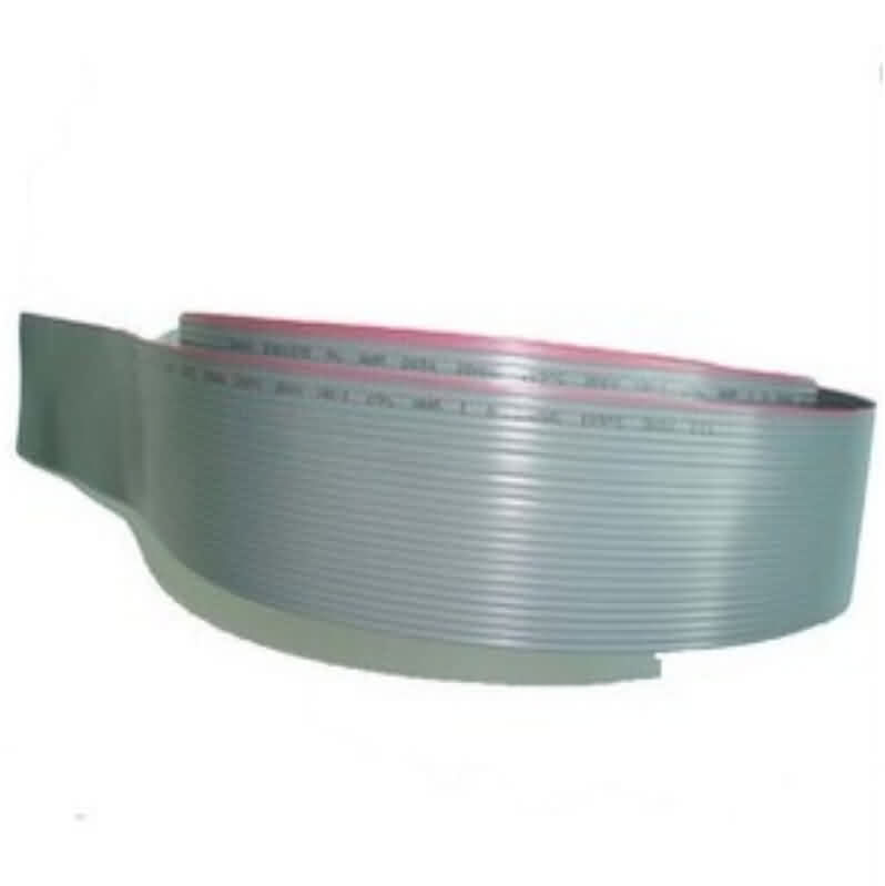 Pre-cut Grey Ribbon Cables / Conductor Pitch: 2.54mm / Pin: 4~24