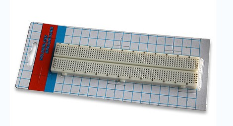 630 Tie-point Solderless Breadboard