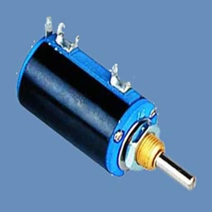 10-Turn Wire-Wound Potentiometer - 2W Series