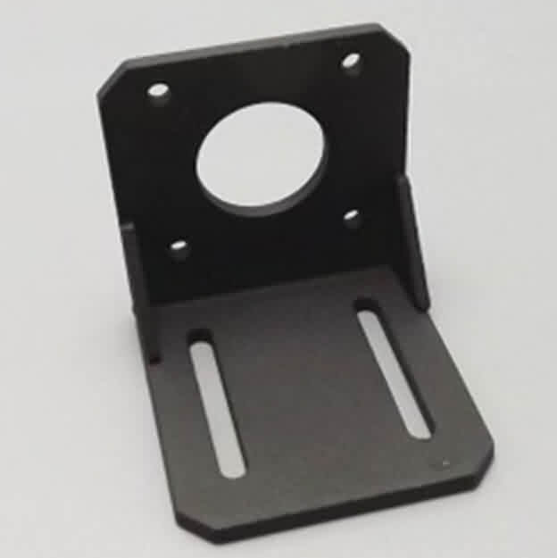 42/57/86 Stepper Motor Bracket - Carbon Steel