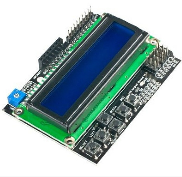 Keypad Shield - 1602 LCD