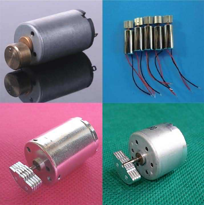 Vibration cylindrical Motor with Pendulum - OD: 6 / 7 ~ 32mm