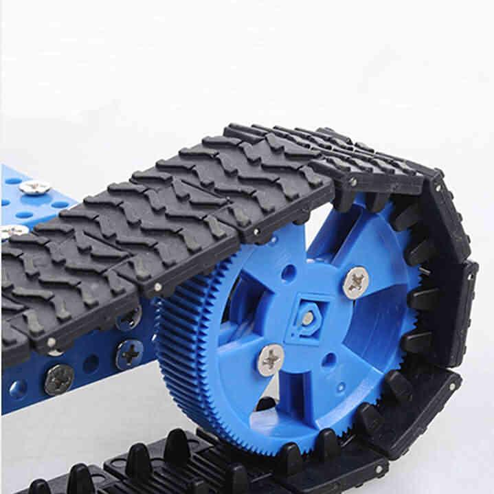 Plastic Sproket Wheel and Track Kit