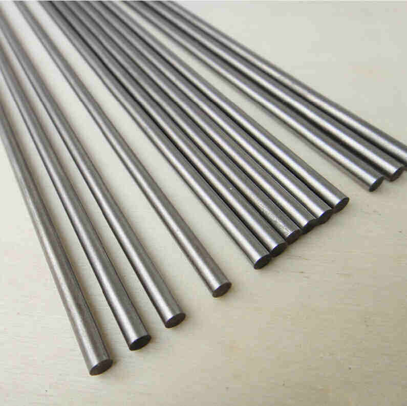Stainless Steel Shaft-No Threads / D: 1.0 - 5.0mm L: 100mm