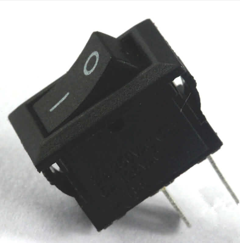 Rocker Switch: 2-Pin / 3A