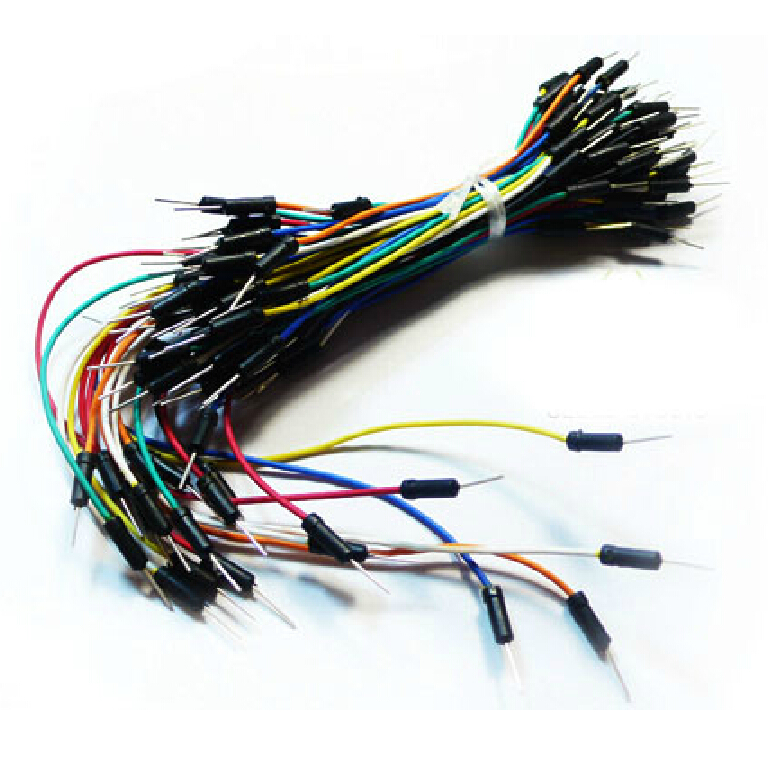Round Plastic Housing Jumper Wire Kit
