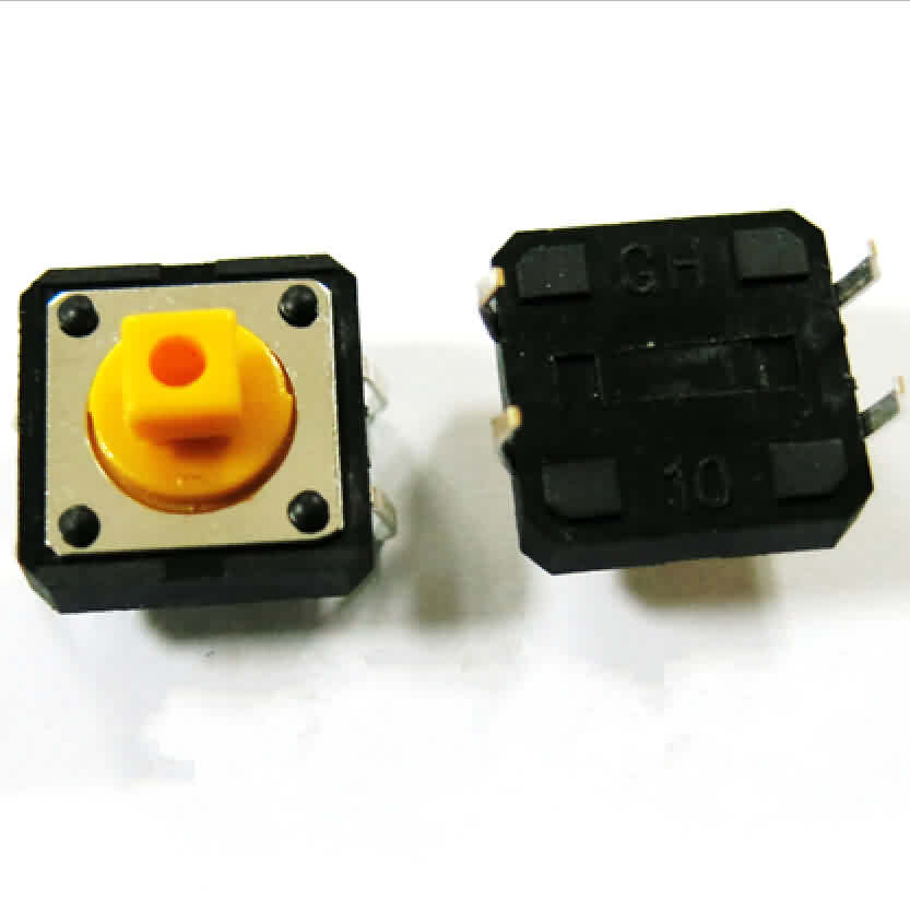Micro Tact Switch - 4 Pin - 12 * 12 * 7.3mm