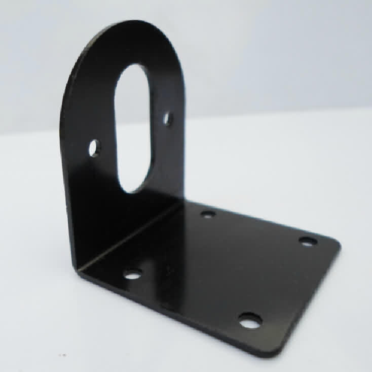 OD 36mm DC Motor Bracket - Carbon Steel